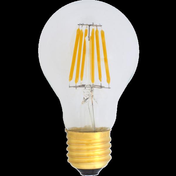 Żarówka dekoracyjna LED filament A19 Deco LED E27 230V 6W 2700K ściemnialna Eiko