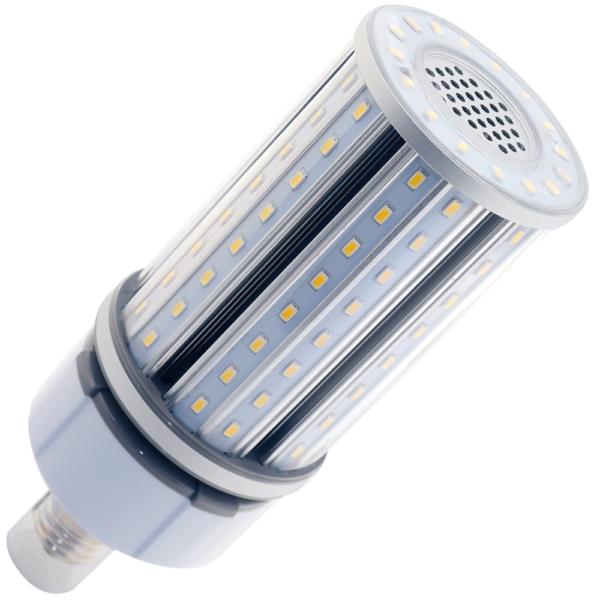na zdjęciu Żarówka do lamp ulicznych Corn LED SMD LG5630 E27 19W 100-277VAC biała