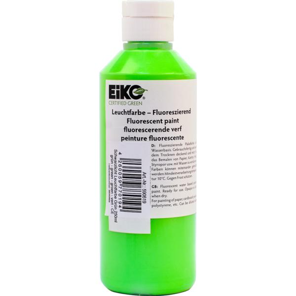 na zdjęciu Farba fluorescencyjna zielona 250ml