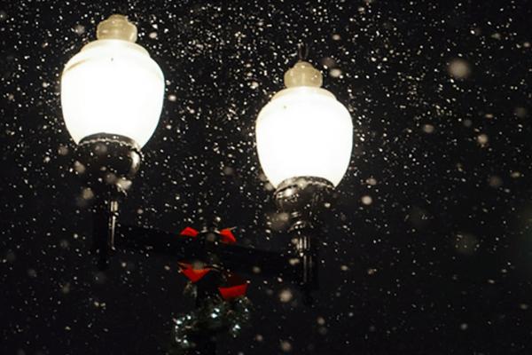 Na zdjęciu Lampa uliczna miejska corn led zamiennik lamp hql