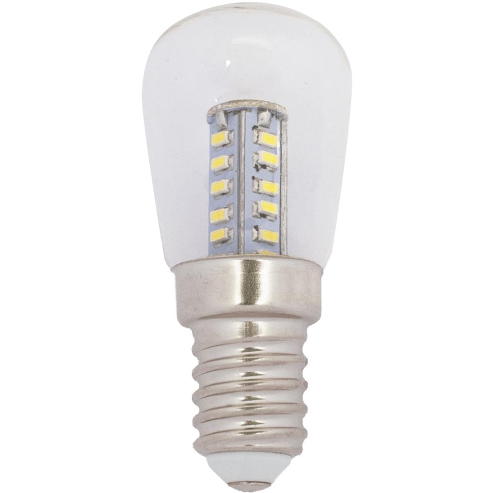 na zdjęciu Żarówka do lodówki LED okapowa ST26 E14 230V 2700K