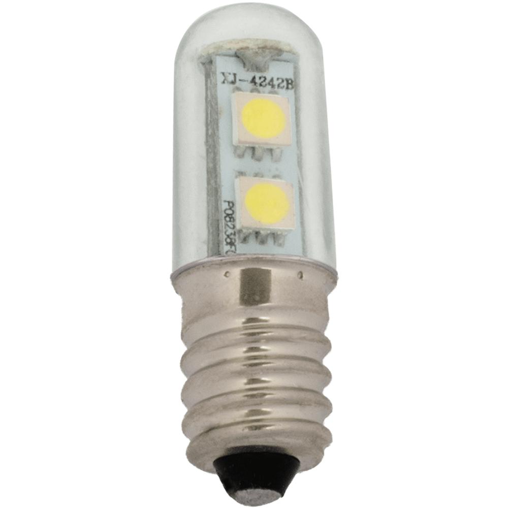 na zdjęciu Żarówka do lodówki LED okapowa T16 E14 230V 6500K