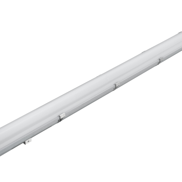 na zdjęciu oprawa hermetyczna ip65 IK10 led tri proof o mocy 54 W z modułem sterowania DALI Eiko europe bromoled pl EKTPC65W50K-150